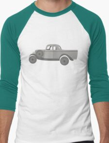 Ford Coupe 304 b&w Men's Baseball ¾ T-Shirt