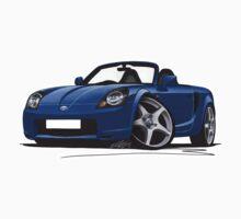 Toyota MR2 (Mk3) Blue by Richard Yeomans