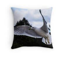 A Rat with Wings.............. Throw Pillow