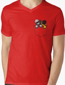 Robots In My Pocket! Mens V-Neck T-Shirt