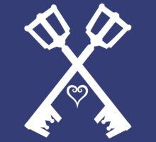Kingdom Hearts Keyblade Shirt by TheDorknight