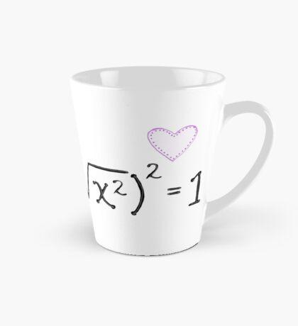 Math heart (white) Mug
