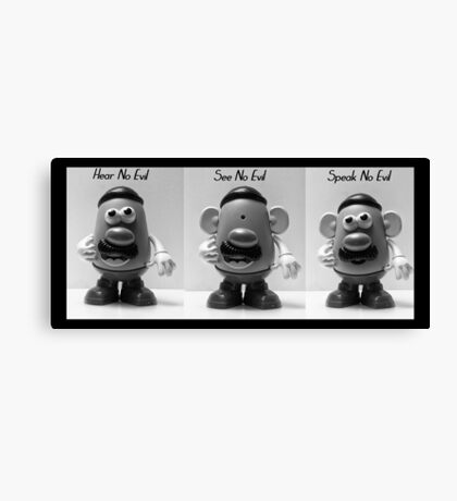 Hear No Evil... Canvas Print