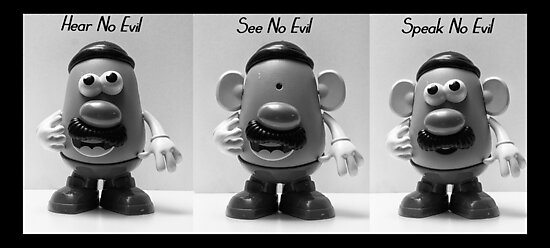 Hear No Evil... by GPMPhotography