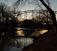 Crossing the Big Sioux River by Scott Hendricks