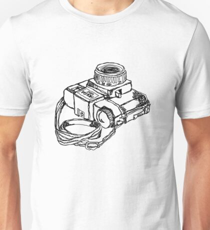 Holga 120 Plastic Toy Medium Format Camera Unisex T-Shirt