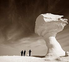 Silhouettes and Rock Formations by Jeni Stembridge