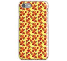Mushrooms and Leaves Fall Pattern iPhone Case/Skin