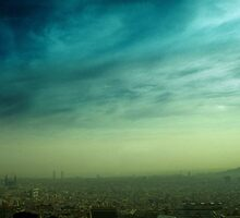 Barcelona - underwater afternoon by thefifthAce