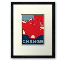 Ditto Pokemon - Change Framed Print