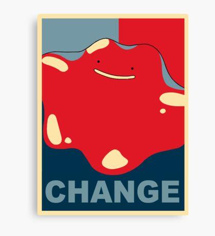 Ditto Pokemon - Change Canvas Print