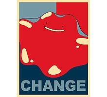 Ditto Pokemon - Change Photographic Print
