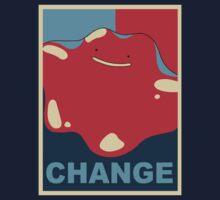 Ditto Pokemon - Change by Alex Papanicola