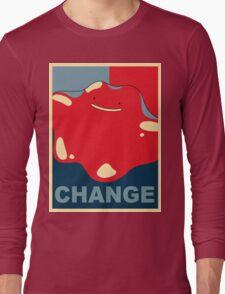 Ditto Pokemon - Change Long Sleeve T-Shirt