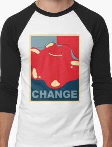 Ditto Pokemon - Change Men's Baseball ¾ T-Shirt