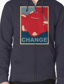 Ditto Pokemon - Change Zipped Hoodie