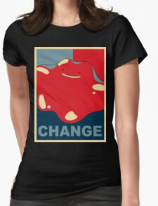Ditto Pokemon - Change Womens Fitted T-Shirt