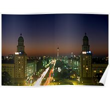 Frankfurter Tor, Berlin 2003 Poster