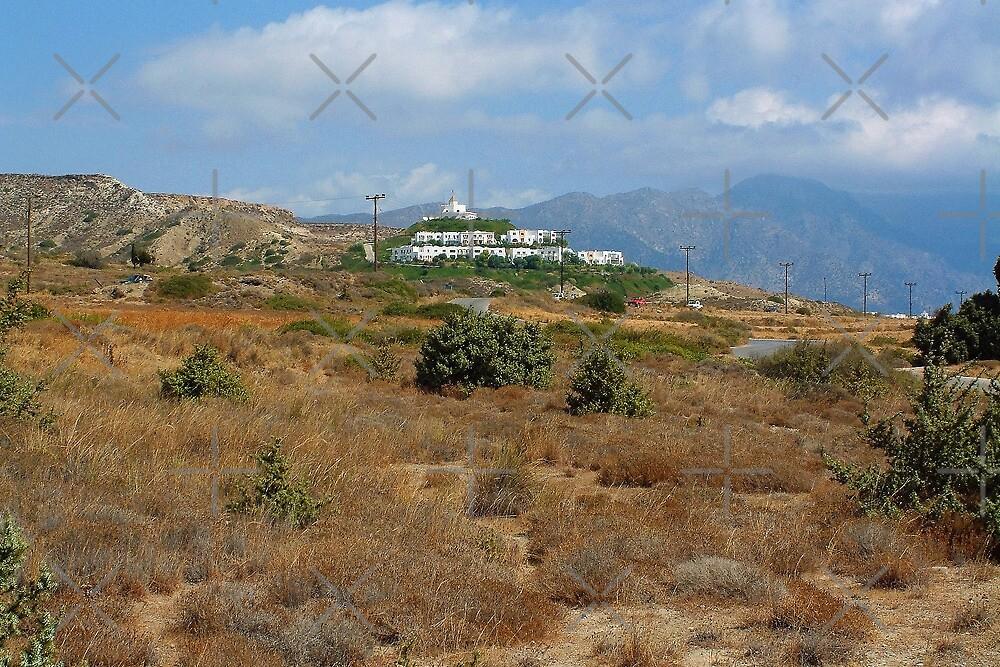 Church near Kardamaina by Tom Gomez
