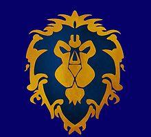 WoW Alliance Symbol by Mytholxgy