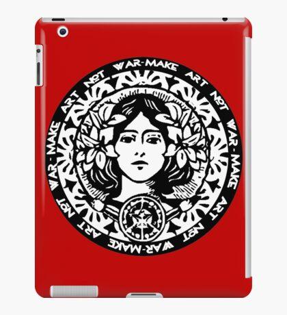 MAKE ART NOT WAR iPad Case/Skin