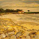 pebble beach panel 1 by Caroline  Hajjar Duggan