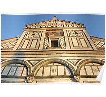 San Miniato al Monte in Florence Poster