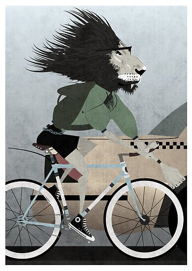 Alleycat Race by Andy Scullion