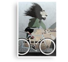 Alleycat Race Metal Print