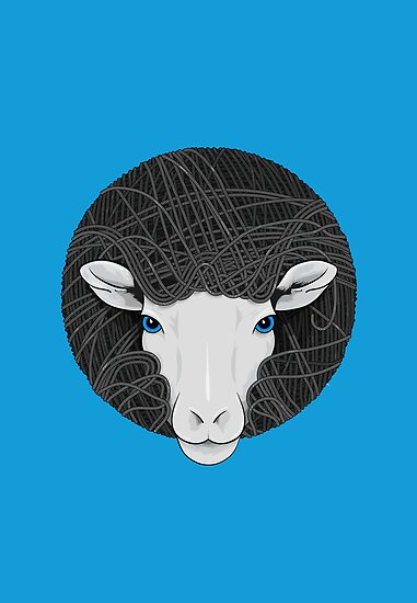 Funky Sheep by Compassion Collective