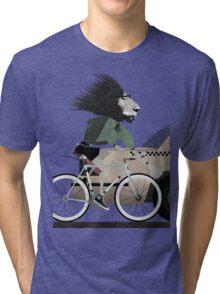 Alleycat Race Tri-blend T-Shirt