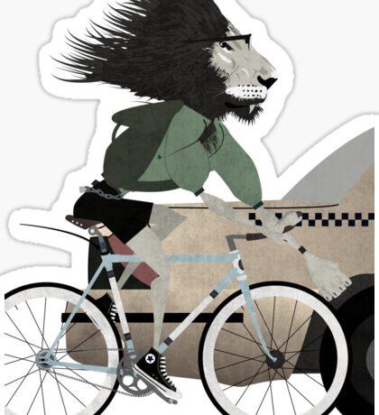 Alleycat Race Sticker