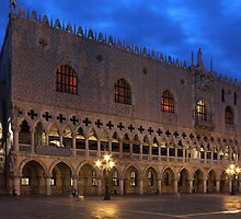 Doges Palace in Venice at The First Morning Light by kirilart