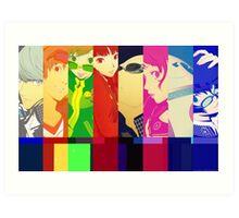 Persona 4 Investigation Team Art Print