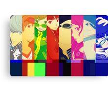 Persona 4 Investigation Team Canvas Print