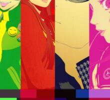 Persona 4 Investigation Team Sticker
