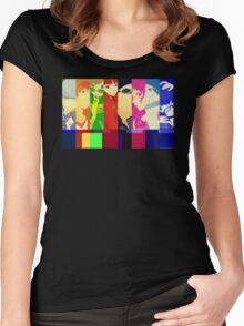 Persona 4 Investigation Team Women's Fitted Scoop T-Shirt