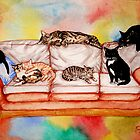 Cats! by Freja Friborg