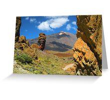 El Teide Tenerife Greeting Card
