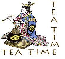 Tea Time by Agy Wilson
