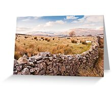 A Dales View Greeting Card