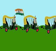 Auto Rickshaw - India by funkyworm