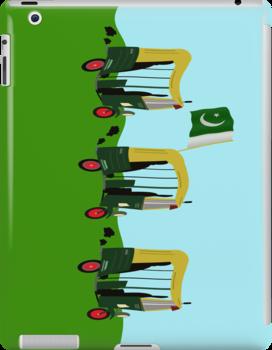 Auto Rickshaw - Pakistan by funkyworm