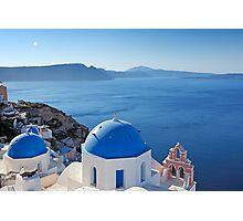 Santorini, Greece Photographic Print