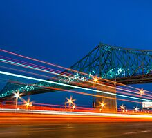 Jacques-Cartier Bridge by Michael Vesia