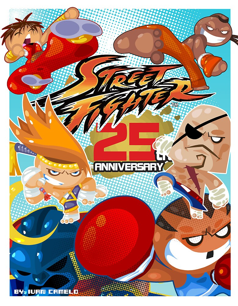 Street Fighter 25 Anniversary 1 by vancamelot
