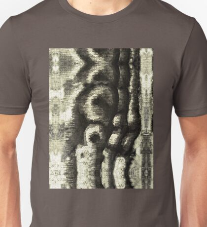 Etching Abstract Unisex T-Shirt