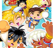 Street Fighter 25 Anniversary 2 by vancamelot