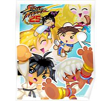 Street Fighter 25 Anniversary 2 Poster