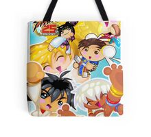 Street Fighter 25 Anniversary 2 Tote Bag